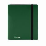 Portfolio  Pro-binder - Eclipse - Vert Foret (Forest Green) - 160 Cases (20 Pages De 8 Cases)