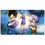Tapis de Jeu Dragon Ball Super Tapis De Jeu - Dragon Ball Super Bulma, Vegeta et Trunks Accompagné D'un Tube De Protection
