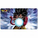 Tapis de Jeu Dragon Ball Super Tapis De Jeu - Dragon Ball Super Sangoku Goku Super Sayan 4 Accompagné D'un Tube De Protection