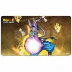 Tapis de Jeu Dragon Ball Super Tapis De Jeu - Dragon Ball Super Beerus, dieu de la destruction Accompagné D'un Tube De Protection