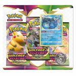 Coffret Pokémon Tripack 3 Boosters - EB04 - Épée et Bouclier 4 Voltage Eclatant - Aquali
