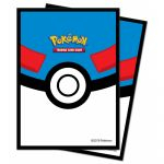 Protèges Cartes Standard Pokémon Super Ball - Par 65