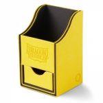 Boite de Rangement  Nest 100+ Deck Box Dice Tray - Jaune/Noir