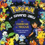 Jeu de Plateau Enfant Pokemon Le Grand Jeu Du Cherche Et Trouve