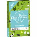 Jeu de Cartes Enfant Parent Epuisé : Kit de survie Green Attitude