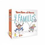Jeu de Cartes Enfant Tom Tom et Nana - 7 familles