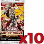 Booster en Français Yu-Gi-Oh! Vortex Embrasé - Lot de 10