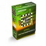 Protèges cartes Spéciaux  Sleeves Transparent medium Antireflet Non-Glare pour jeu de Plateau (57x89mm) 50 Pièces