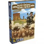 Jeu de Plateau Gestion Dice Town - Extension Cowboy