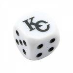Dés Yu-Gi-Oh! Dé À 6 Faces blanc - KaibaCorp