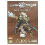 Jeu de Plateau Aventure Sword & Sorcery - Pack de Héros Victoria