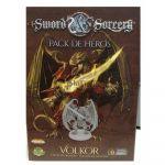 Jeu de Plateau Aventure Sword & Sorcery - Pack de Héros Volkor