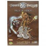 Jeu de Plateau Aventure Sword & Sorcery - Pack de Héros Samyria