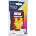 Protèges cartes Spéciaux  50 Prime Sleeves - 66x91mm Standard Card Game - Marvel Iron Man