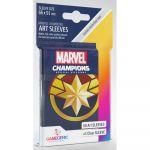 Protèges cartes Spéciaux  50 Prime Sleeves - 66x91mm Standard Card Game - Marvel Captain Marvel