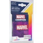 Protèges cartes Spéciaux  50 Prime Sleeves - 66x91mm Standard Card Game - Marvel Violet
