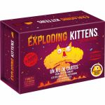 Jeu de Cartes Best-Seller Exploding Kittens - Édition Festive