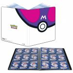 Portfolio Pokémon Master Ball  - 180 Cartes - 10 Pages De 9 Cases