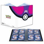 Portfolio Pokémon Master Ball - A5 - 4 Cases