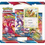Coffret Pokémon Tripack 3 Boosters - EB05 - Épée et Bouclier 5 Styles de Combat - Evoli