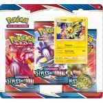 Coffret Pokémon Tripack 3 Boosters - EB05 - Épée et Bouclier 5 Styles de Combat - Voltali