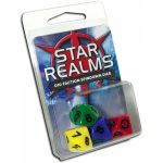 Deck-Building Best-Seller Star Realms : set de 4 dés à 10 faces