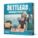 Jeu de Cartes Stratégie Settlers - extension Atlantes