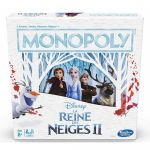 Jeu de Plateau  Monopoly La Reine Des Neiges II