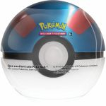Pokébox Pokémon Poké Ball Tin : Super Ball (3 boosters + 1 jeton)