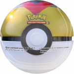 Pokébox Pokémon Poké Ball Tin : Niveau Ball (3 boosters + 1 jeton)