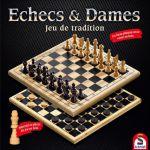 Jeu de Plateau Gestion Echecs et Dames - Jeu de Tradition
