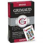 Jeu de Cartes Best-Seller Jeu de 54 cartes - Grimaud Expert - Bridge - Rouge