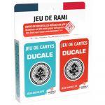Jeu de Cartes  Jeu de Rami - 2 x 54 cartes - DUCALE Ecopack