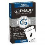 Jeu de Cartes Best-Seller Jeu de 54 cartes - Grimaud Expert - Bridge Symétrique - Bleu