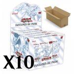 Coffret Yu-Gi-Oh! GFTP - Les Fantômes du Passé - Carton de 10 Displays - Lot de 50
