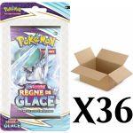 Booster en Français Pokémon EB06 - Épée et Bouclier 6 : Règne de Glace - Carton de 36 Blisters