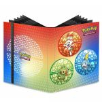 Portfolio Pokémon Pro-binder Flambino, Ouistempo et Larméléon - A4 - 9 Cases - 20 pages