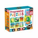 Ludo-Educatif Enfant Progressive Puzzle 8