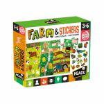Ludo-Educatif Enfant Farm & Stickers