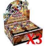 Boite de Boosters Français Yu-Gi-Oh! 24 Boosters - Foudre Amplifiée - Lot de 3