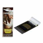 Protèges Cartes Standard  Sleeves Standard Perfect Fit resealable smoke - par 100