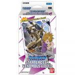 Deck de Demarrage Digimon Card Game Venomous Violet (CresGarurumon)