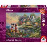 Réflexion Puzzle Mickey & Minnie - 1000 pièces
