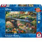Réflexion Puzzle Alice au pays des merveilles - 1000 pièces