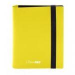 Portfolio  Pro-binder - Eclipse - Lemon Yellow - 80 Cases (20 Pages De 4)