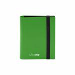 Portfolio  Pro-binder - Eclipse - Lime Green - 80 Cases (20 Pages De 4)