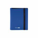 Portfolio  Pro-binder - Eclipse - Pacific Blue - 80 Cases (20 Pages De 4)