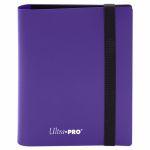 Portfolio  Pro-binder - Eclipse - Royal Purple - 40 Cases (20 Pages De 2)