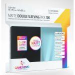 Protèges cartes Spéciaux  Double Sleeving Pack (66x91 mm / 64x89 mm) par 100 Anti-Reflets
