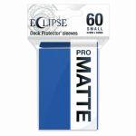 Protèges Cartes Format JAP  Sleeves Ultra-pro Mini Par 60 Eclipse Pro Matte Bleu Pacifique (Pacific Blue)